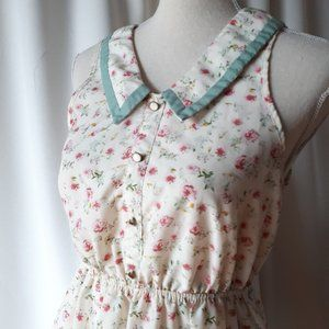 *2/$14* UK2LA Floral Dress Size Medium